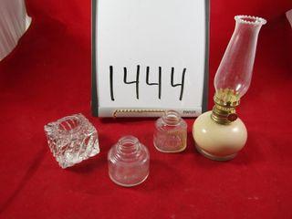 3 ink wells Safety Bottle   ink company  Parker