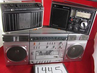 Magnasonic stereo cassette player  Sony AM FM Rado