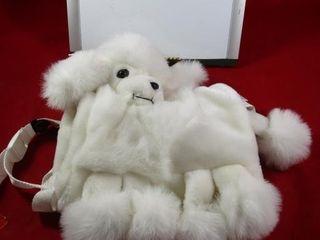 Child muff  purse Poodle
