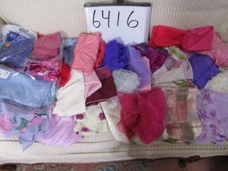 Bag of scarves
