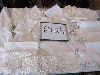 linen lot  dollies  placemants  tablecloths