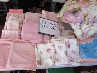 Twin  comforter   seersucker spread  sheet sets