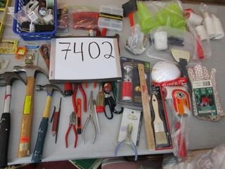 Handy Man lot  hand tools  hardware