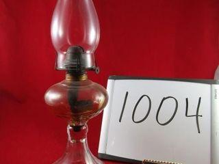 Coal oil lamp 18  H