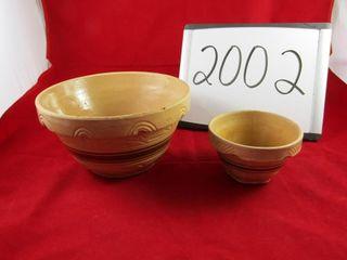 Crockery Bowls  larger RRPC Roseville 9  D