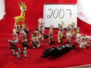 Japan ware 27 pc  animal and people