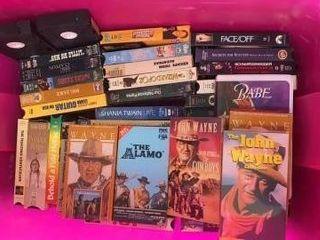 VHS TUB OF MOVIES