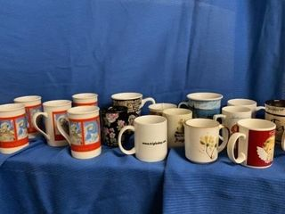 18 COFFEE CUPS   INClUDES SET OF 6