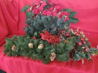 SWAGS  GREENERY AND DECORATIONS