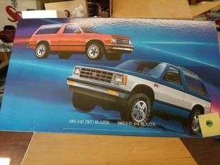 1985 S 10 2WD BlAZER   1985 S10 4X4 BlAZER