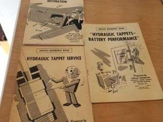 3 1950 S VINTAGE CHRYSlER SERVICE BOOKS