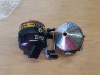 600 ZEBCO REEl AND ZEBCO SPINNER MODEl REEl