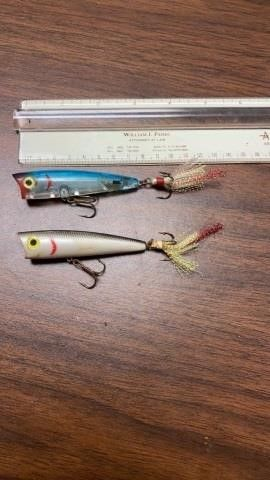 2 SPARKlY TAIl FISHING lURES