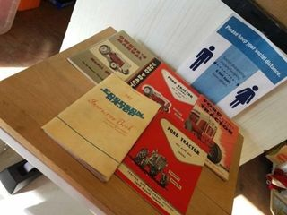 VINTAGE FORD AND FORDSON ENGINE TRACTOR MANUAlS