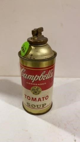 CAMPBEll TOMATO SOUP CAN lIGHTER