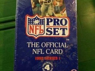 NFl CARD PRO SET  1992 SERIES 1