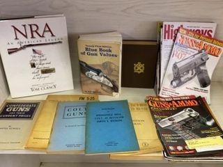 BOOKS ABOUT GUNS AND GUN MAGAZINES