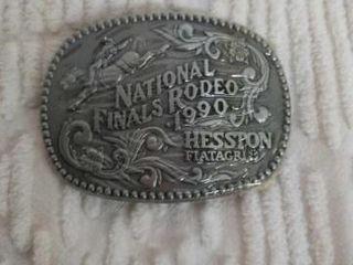 HESSTON  4  NATIONAl FINAlS RODEO BElT BUCKlE