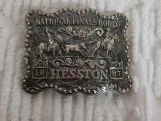 HESSTON 4  1987 NATIONAl FINAlS RODEO BElT