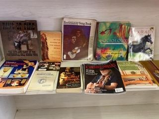 BOOKS OF All KINDS AND COWBOY  INDIAN MAGAZINES