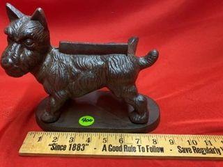 CAST IRON SCOTTY DOG