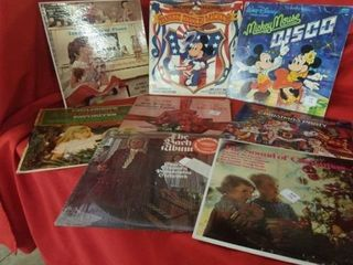 CHIlDRENS STEREO RECORDS    CHRISTMAS   MICKEY