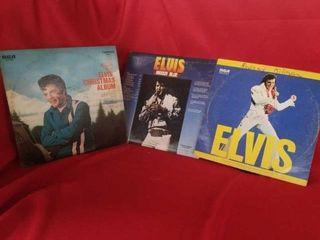 3 ElVIS STERIO RECORDS