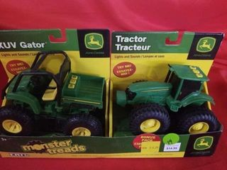 JOHN DEERE XUV GATOR AND TRACTOR  lIGHTS AND