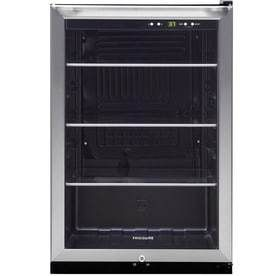 Frigidaire 4 6 cu ft Stainless Steel Freestanding Beverage Center small dent on top