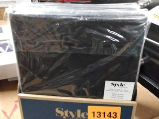 Set Of 6 Style Selections Black 10 5x10 5x11in Fabric Drawer