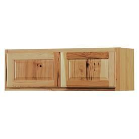 Kitchen Classics Denver 36 in W x 12 in H x 12 in D Finished Hickory Hickory Double Door Kitchen Wall Cabinet