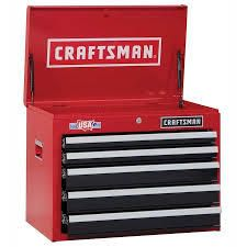 craftsman toolbox s2000 5 drawers with keys