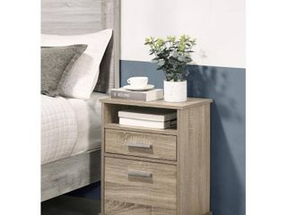 Cessna Nightstand w  2 Drawers  Retail 94 99