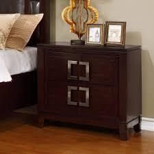 Furniture of America Jofi Transitional Cherry Solid Wood Nightstand  Retail 267 99