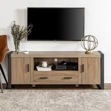 Carbon loft Burke 60 inch Driftwood Urban TV Stand Console  Retail 322 99
