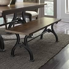 Arlington House Cobblestone Brown Dining Bench only Retail 331 99