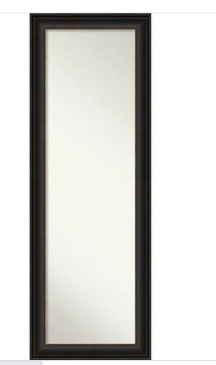 Oil Rubbed Bronze Full Sized Mirror