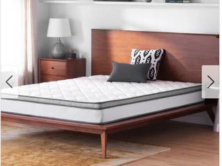 OSleep 8 inch Memory Foam and Innerspring Hybrid Mattress Retail 126 99