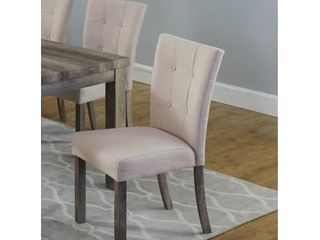 Best Master Furniture light Wood Side Chairs  Set of 2  Retail 154 99