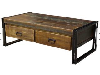 Handmade Reclaimed Wood Coffee Table  India  Retail 272 99