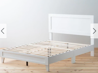 Brookside leah Classic Wood Platform King Bed  Retail 357 99