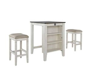 Tapas Counter Table and 2 Stools  Retail 373 99