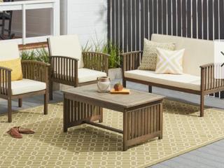 Carolina 4 Piece Sofa Set Retail  439 99