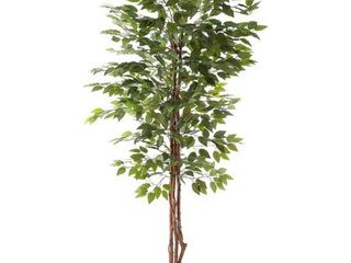 Artificial Ficus Tree by Pure Garden   31 x 31 x 80  Retail 113 49