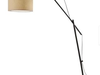 Strick And Bolton Micah Rough Matte Black Floor lamp