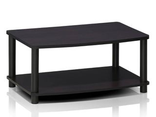 Furinno 13191 Turn N Tube No Tools 2 Tier Elevated TV Stands