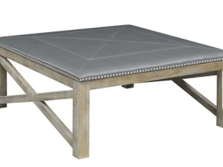 Gray Barn UpholsteredGrey Square Coffee Table