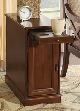 Powell Pickford Hazelnut Accent Table  Retail 188 87
