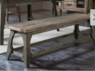 Carbon loft Chloe Grey Dining Bench  Retail 299 49