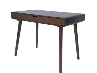 Peninah Mid Century Faux Rubberwood Writing Desk by Christopher Knight Home  Retail 213 99